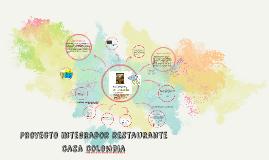 Proyecto integrador restaurante casa colombia