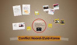 Conflict Noord-/Zuid-Korea