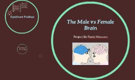 The Male vs Female  Brain