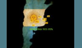 ARGENTINA 1955-1976