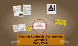 Reading Synthesis Assignment: Module 4