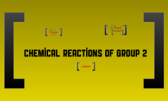 Chemical Reactions of Group 2