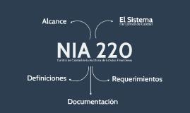 cc NIA 220