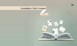 Vocabulary Mini-Lessons