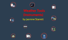 Weather Tools (Instruments)
