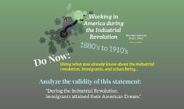 Copy of Industrial Revolution Labor Work