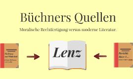 Büchners Quellen