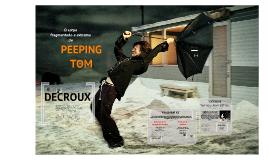 O corpo extremo e fragmentado de Peeping Tom: