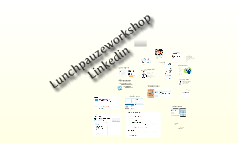 Lunchpauze workshop Linkedin