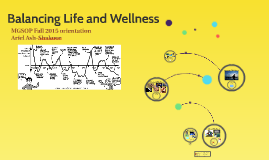 Balancing Life and Wellness MGSOP Fall Orientation 2105