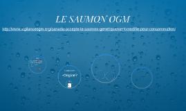 LE SAUMON OGM