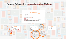 Copy of Caso de éxito de lean-manufacturing: Maheso.