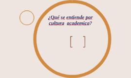 ¿Què se entiende por cultura?