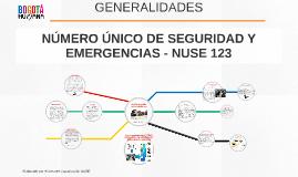 NUMERO UNICO DE SEGURIDAD Y EMERGENCIAS - NUSE 123