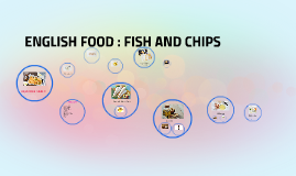 ENGLISH FOOD : FISH AND CHIPS