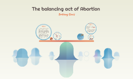 The balancing act of Abortion