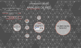ANALISIS DE RED
