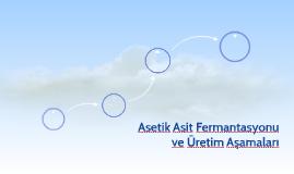 Asetik Asit Fermantasyonu ve Üretim Aşamaları