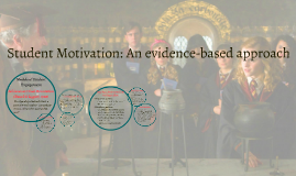 Student Motivation: An evidence-based approach