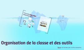 Organisation de la classe : îlots