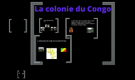 My French speaking country: Congo