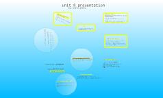 unit 8 presentation