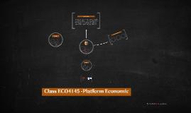 Platform economic