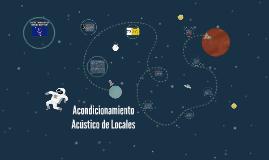 ACONDICIONAMENTO ACUSTICO DE LOCALES