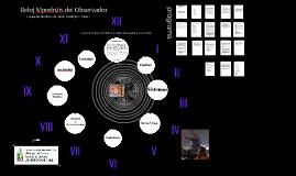 Reloj Mpodozis de El Observador, explicación desde la Biología del Conocer del Observador y su mundo   CHILE