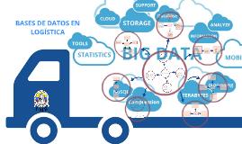Mapa Mental de Base de datos y su ayuda a la logística