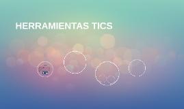 HERRAMIENTAS TICS