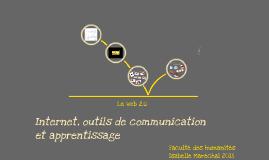 Internet, outils de communication et apprentisage