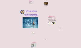Copy of LEY 1429 de 2010