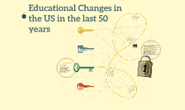 Educational Changes in the US in the last 50 years