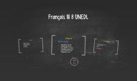 Français III UNEDL