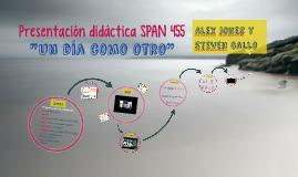 Presentación didáctica SPAN 455