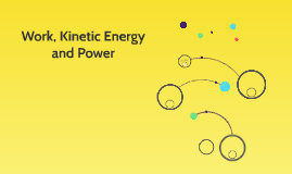 Work, Kinetic Energy and Power