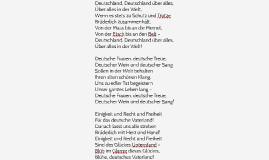 Deutschlandhymne Alle Strophen