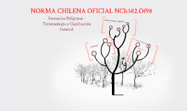 Copy of NORMA CHILE OFICIAL NCh382.Of98 SUSTANCIAS PELIGROSAS.