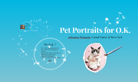 Pet Portraits for O.K.