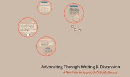 Embodying Writers Through Critical Inquiry