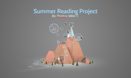 Copy of Copy of Summer Reading Book Reports