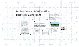 Borászat: Balatonboglári borvidék