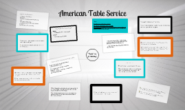 Copy of AMERICAN TABLE SERVICE