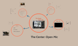 The Center: Open Mic