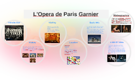 L\'Opera de Paris Garnier by Summer Price on Prezi