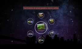 Copy of transformacion del paisaje: ganaderia, mineria y nuevos cultivos