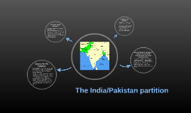 The India/Pakistan partition