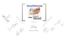Referencing with Microsoft Word 2007/2010