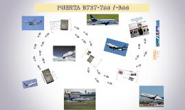 PUERTA B737-700 / 800